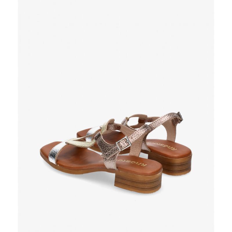 Zapatos confort Kissia en marrón