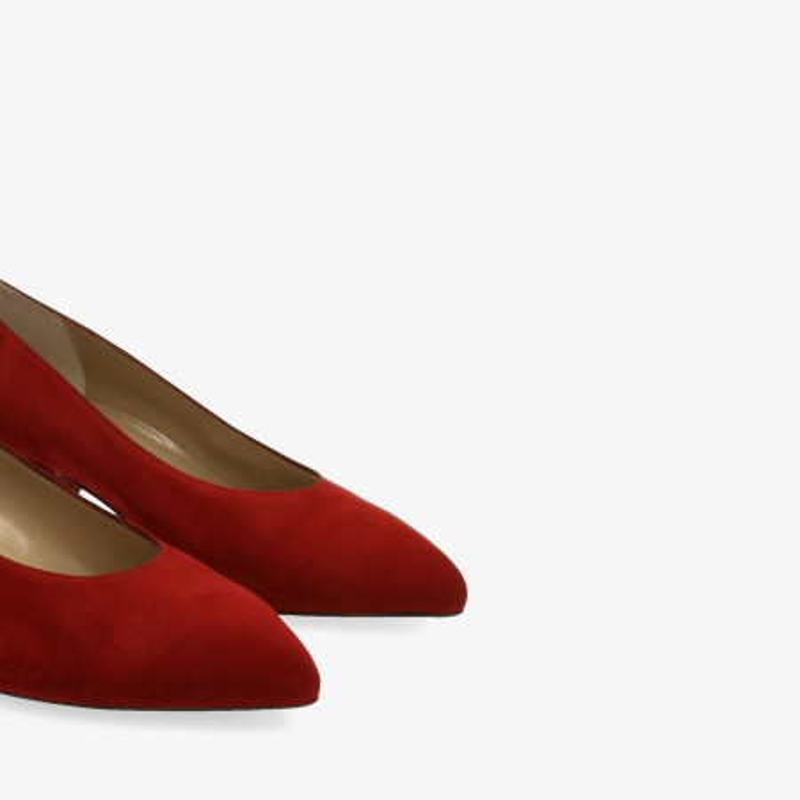 Zapatos y Salones Stephen Allen en burdeos