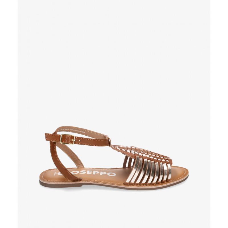 Zapatos y Salones Stephen Allen en taupe