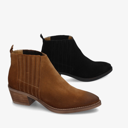 Ankle boots pabloochoa.shoes in leather