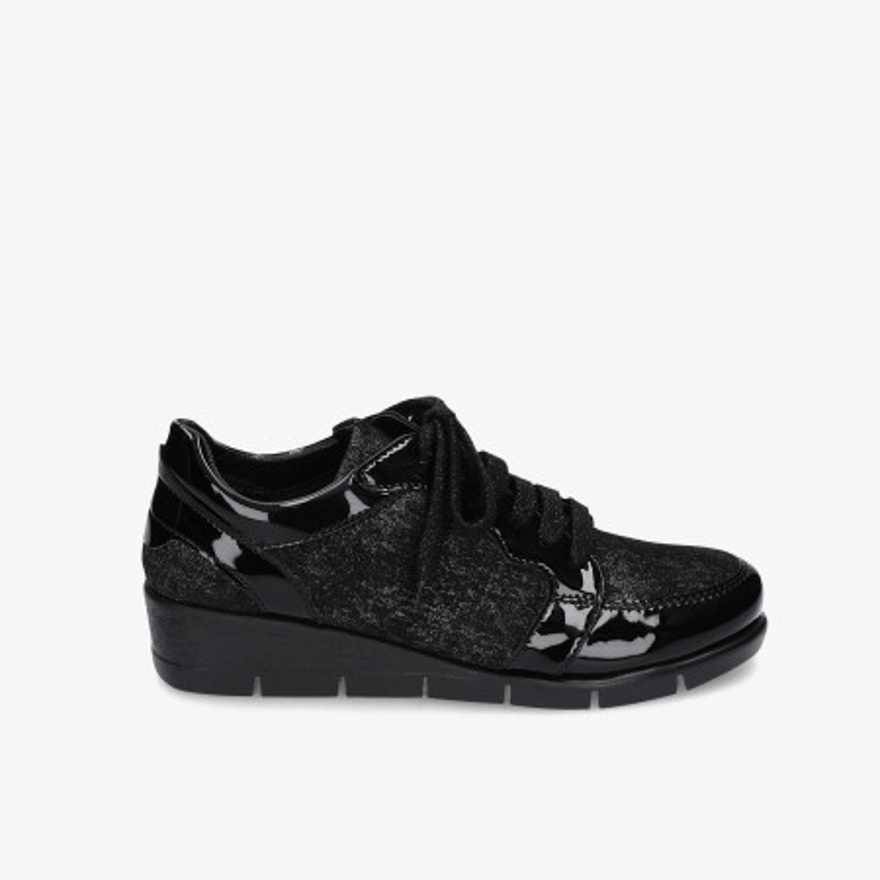 Zapatos confort The Flexx en negro