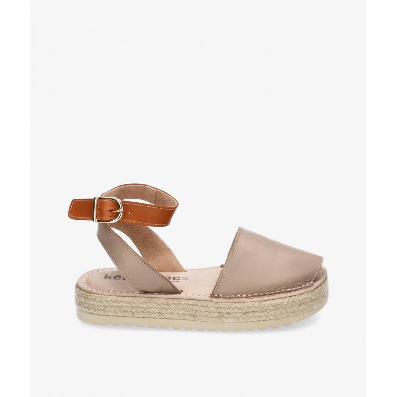Bluchers y zapatos con cordones Kénnebec en bronce