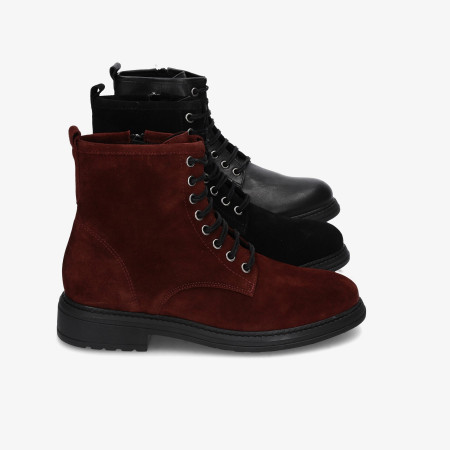 Ankle boots Funny Lola in burgundy