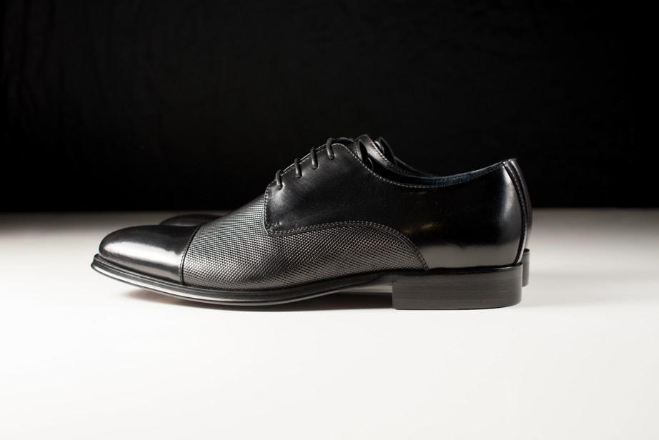 Zapato hombre negro Hobbs