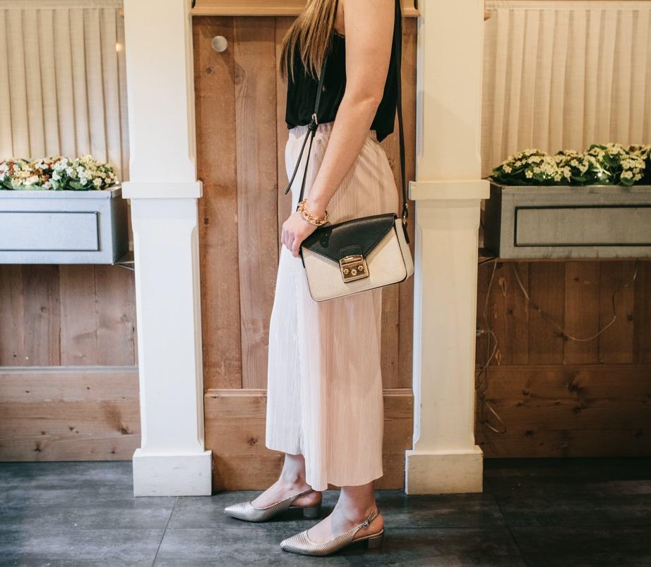 Combo bolso y zapatos mujer