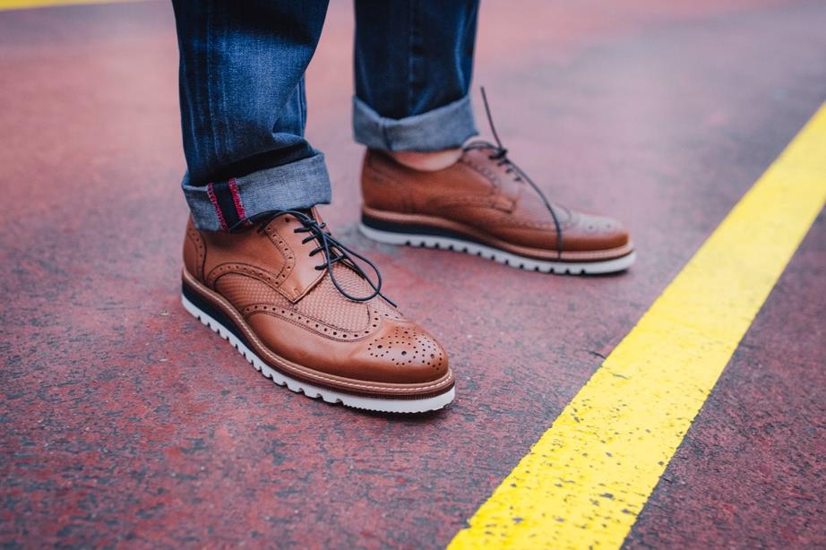Zapato hombre cuero Kennebec