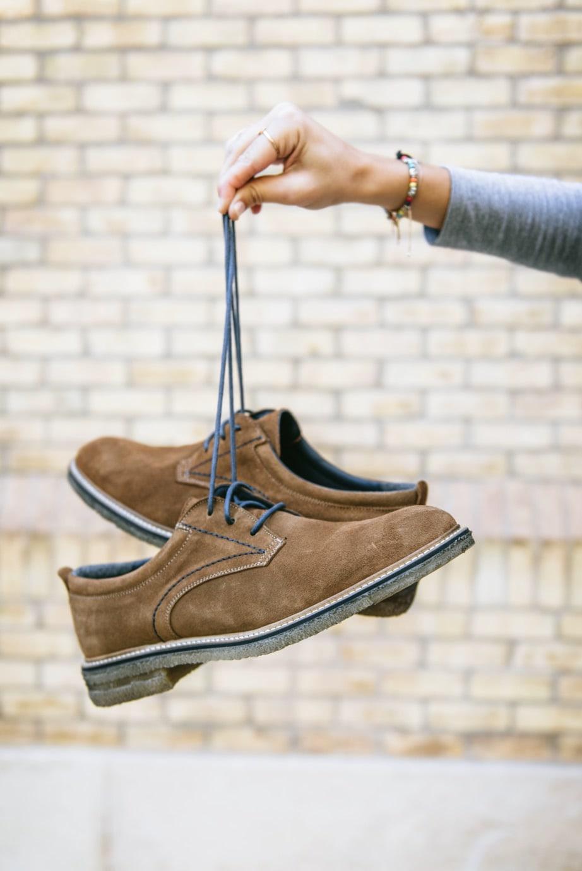 Zapato hombre serraje cuero Traveris