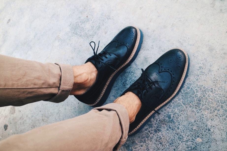 Zapatos hombre color negro Traveris