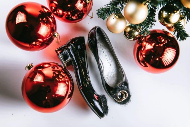 Zapato mujer Stephen Allen charol negro