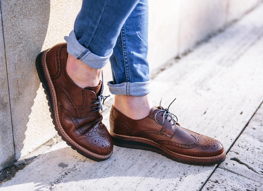 Zapatos hombre color libano de Kennebec