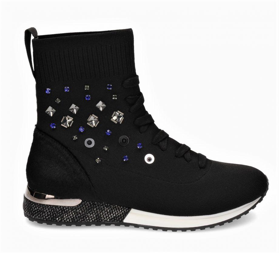 zapatillas elásicas con piedras La Strada