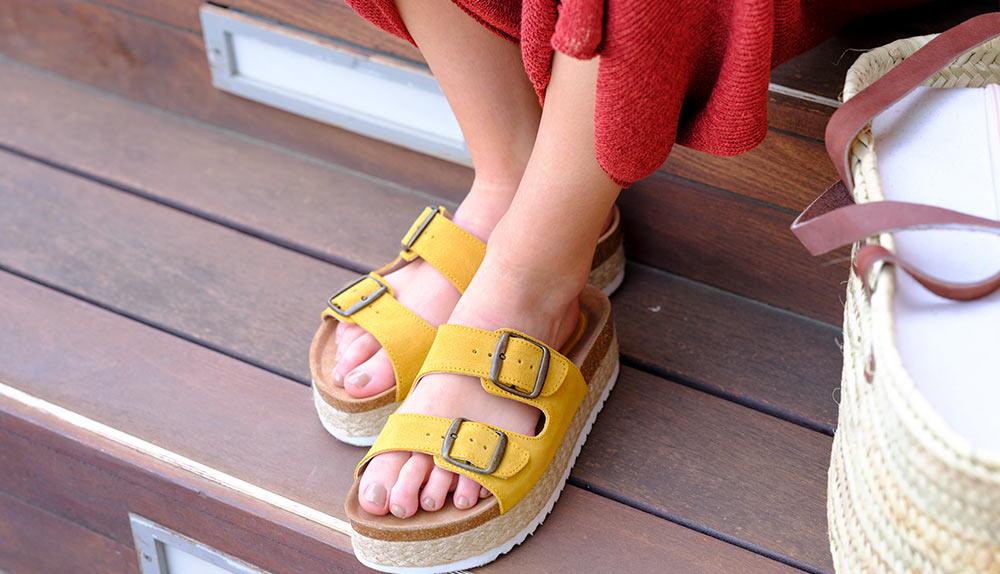 ultimas tendencias en sandalias con plataforma