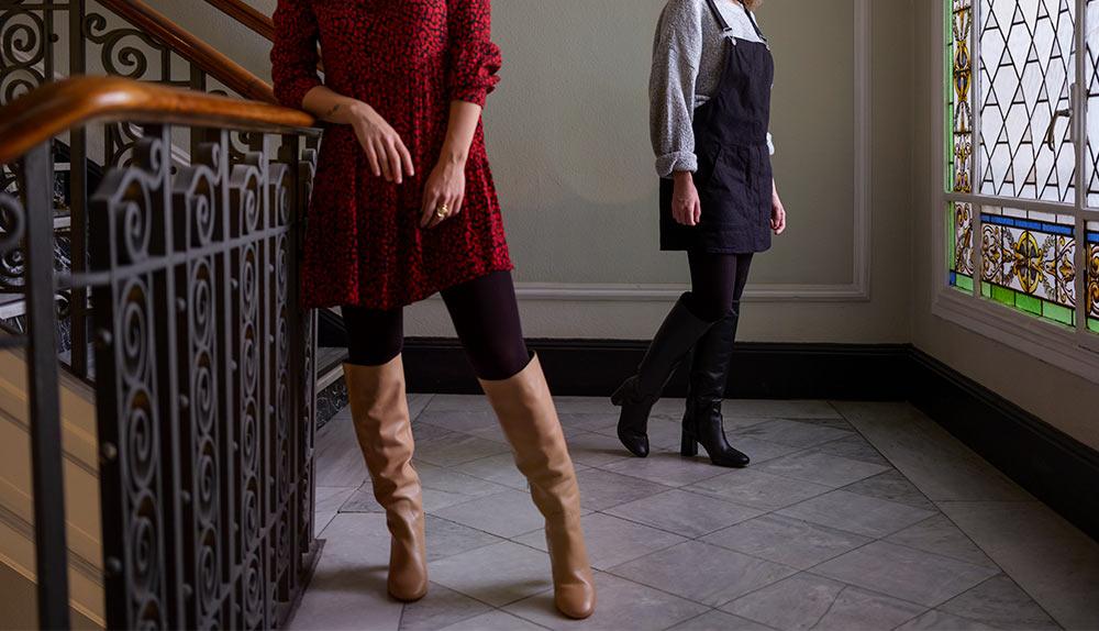 tendencia en botas mujer invierno